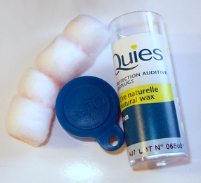 Quies Boules Wax Ear Plugs (Tube of 2 Pairs)