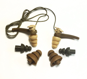 3M Single-Ended Combat Arms Tactical Military Ear Plugs - Generation 4.1 (NRR 8/21)