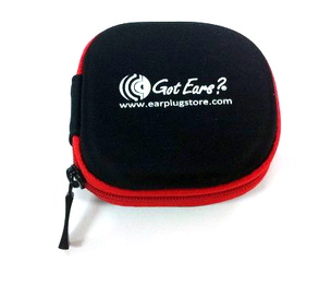 Got Ears? Zippered Earphone and Custom Ear Plug Pouch