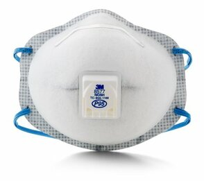 3M 8577 P95 Disposable Respirator (P95+OV) (Case of 80 Masks)
