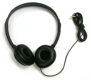 Got Ears? Ultra Lightweight Disposable Stereo Headphones
