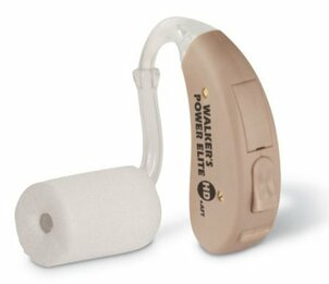 Walker's Game Ear 3171 WGE-XGE4B Digital 4-HD Power Elite Hunting Hearing Aid with Hearing Protection (One Earpiece) (NRR 29)
