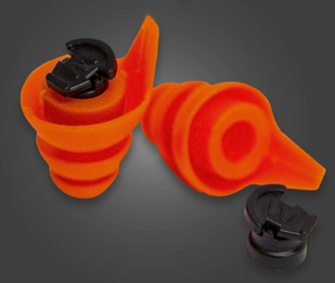 Westone TRU Shooter Reusable Variable Protection Ear Plugs (NRR 18/5)
