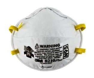 3M 8210 PLUS N95 Disposable Respirator (Case of 160 Masks)