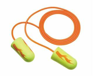 E-A-R Soft Blast CORDED Foam Ear Plugs (NRR 33) (Box of 200 Pairs)