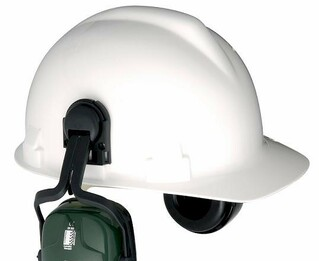 Howard Leight by Honeywell Bilsom HardHat Ear Muff Attachment Adapters (One Pair)