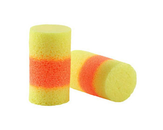 E-A-R Classic SuperFit33 PVC Foam Ear Plugs (NRR 33) (Box of 200 Pairs)