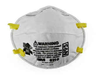 3M 8210 N95 Disposable Respirator (Case of 160 Masks)