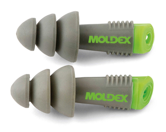 Moldex Alphas Reusable Ear Plugs - Uncorded in Pocket-Pak Plus (NRR 27) (Box of 50 Pairs)