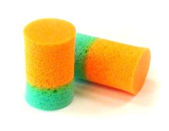 New Dynamics Sound Guard Two-Color PVC Foam Ear Plugs (NRR 29)