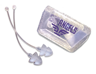 EarAngels Ear Plugs that Attach to Your Earrings