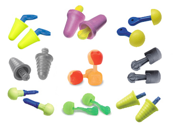 No-Roll Foam Ear Plug Trial Pack (9 Assorted Pairs)
