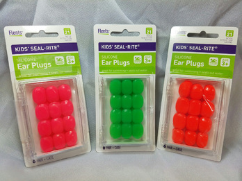 Flents Kids' Seal-Rite Moldable Silicone Ear Plugs (NRR 21) (6 Pairs + Case)