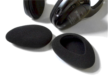 Got Ears? Replacement Pads for Unisar TV Listener Model 777 (One Pair of Pads)