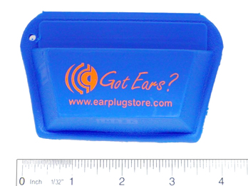 Got Ears? STO Custom Ear Plug and Earphone Pocket Pouch - Large