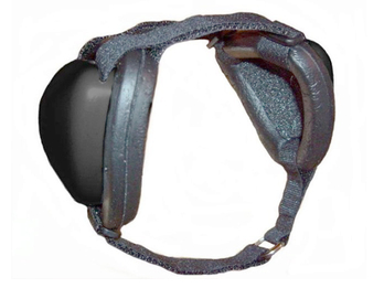 Mutt Muffs DDR337 Dog Ear Muffs (Black)
