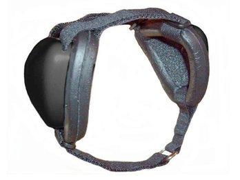 Mutt Muffs DDR337 Dog Ear Muffs (Black)
