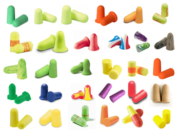 Foam Ear Plug Trial Pack: Just The Highest NRR! (34 Assorted Pairs)