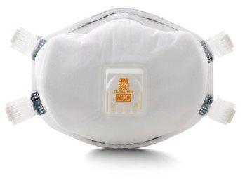 3M 8233 N100 Disposable Respirator (N100) (Case of 20 Masks)