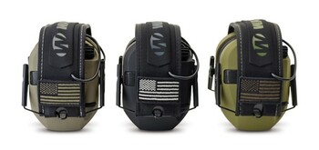 Walker's Razor Slim Patriot Series GWP-RSEMPAT Razor Slim Electronic Earmuffs (NRR 23)