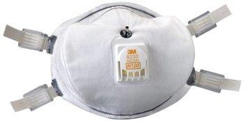 3M 8233Q N100 Disposable Respirator (N100) (Case of 20 Masks)