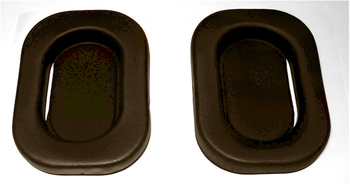 Replacement Pads for E-A-R Muffs (One Pair: Fits Models 1000, 2000 and 3000 only)