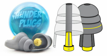 Safe Ears Thunderplugs Vending Machine Capsule Pack (One Pair)