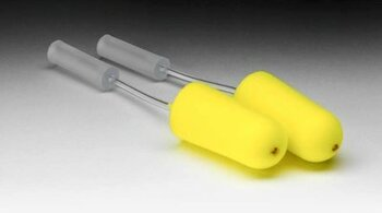 3M E-A-R 393-2000-50 Yellow Neons Probed Test Plugs (Box of 50 Pairs)
