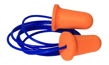Radians Deviator™ FP81 UF Foam Ear Plugs Corded (NRR 33) (Case of 1000 Pairs)