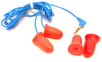 Got Ears?® Plugfones Workers Isolation Earphones