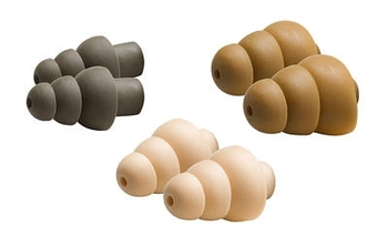 COMBATTIPS 3M Peltor Combat Arms Ear Tips S-M-L   (1 pack with 3 assorted pairs)