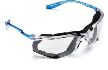 3M Virtua CCS Protective Eyewear 11872-00000-20 with Foam Gasket, Clear Anti-Fog Lens (Case of 20 Pairs)