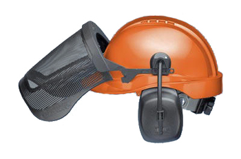 Elvex ProGuard CU-30R Forestry Headgear for Professionals (NRR 25)