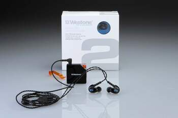 Westone 2 True-Fit Personal Listening Earphones With FREE Portable Amp!