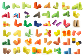 Foam Ear Plug Trial Pack: Try 'Em All! (45 Assorted Pairs)