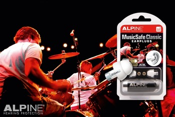 Alpine MusicSafe Classic Natural Sound Musicians Ear Plugs (NRR 11/16)