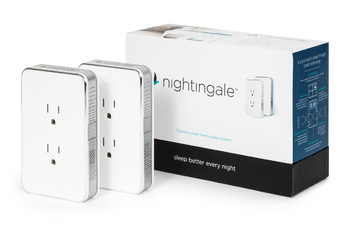 Nightingale White Noise Smart Home Sleep System by Cambridge Sound Management (Two Pack Complete)