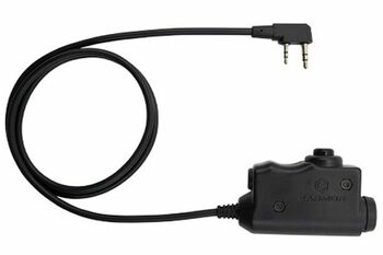 Opsmen M51 Tactical PTT Base Push-To-Talk Cable - No Finger Button