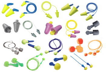No-Roll Foam Ear Plug Trial Pack (19 Assorted Pairs)