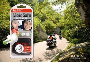Alpine MotoSafe Natural Sound Motorcycle Ear Plugs