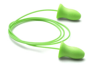 Moldex Meteors 6970 UF Foam Ear Plugs Corded (NRR 33) (Case of 2000 Pairs)
