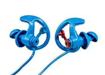 SureFire EarPro Sonic Defenders® Cobalt EP8 Variable Noise Reduction Reusable Ear Plugs for the Food Industry (NRR 24)