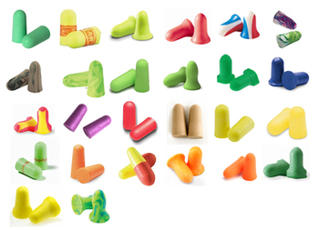 Foam Ear Plug Trial Pack: Just The Softest/Smallest! (26 Assorted Pairs)