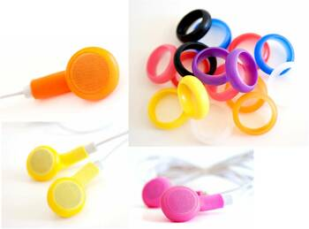 Breppies earbud Covers (Pack of 1 Pair of Breppies + Grippeez!)