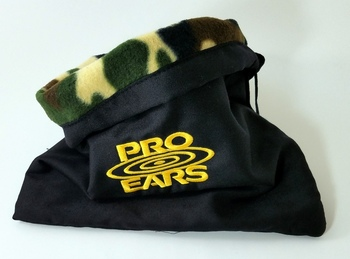 Pro-Ears Fleece-Lined Heavy Duty Ear Muff Storage Bag